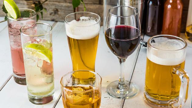 アルコールコース一例